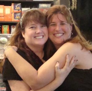 Sherrilyn (left) & Me
